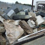 Concrete and rubble disposal. Alternative to skip hire in Bromley Beckenham and Greenwich