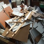 Waste wood, chipboard and MDF recycling and disposal
